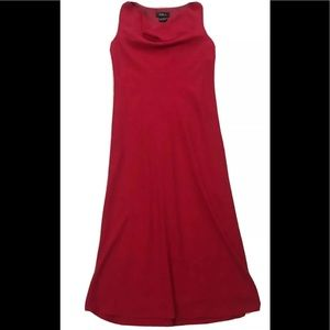 AGB Red Sleeveless Lined Dress 8
